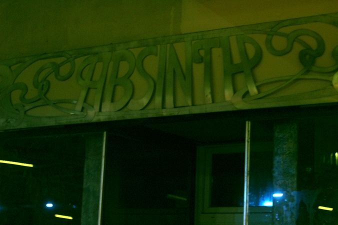A picture of Absinth, a bar in Sternschanze, Hamburg