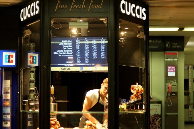 Cuccis at Hamburg hbf