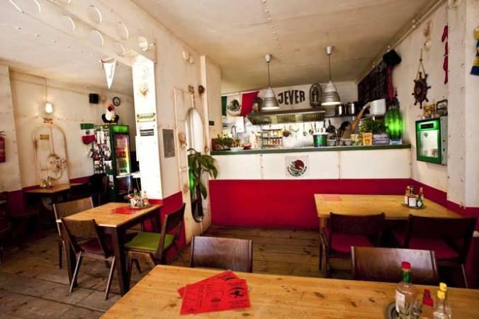 Kombüse, best vegan mexican food in Hamburg.