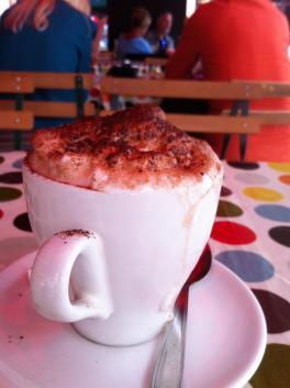 A ridiculous cappuccino I received in Paris circa 2012